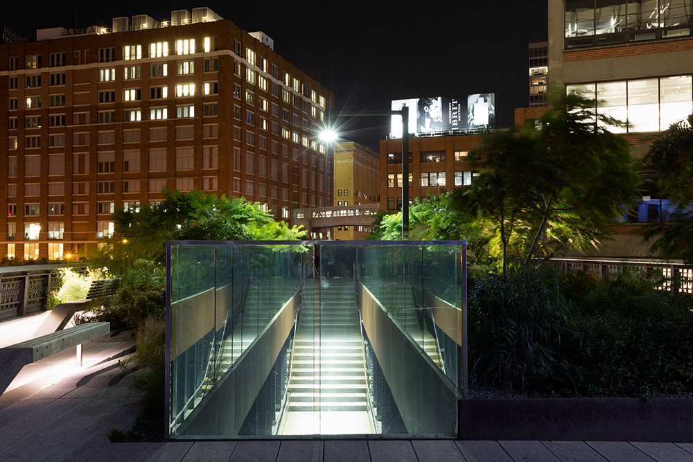 High Line Stairway